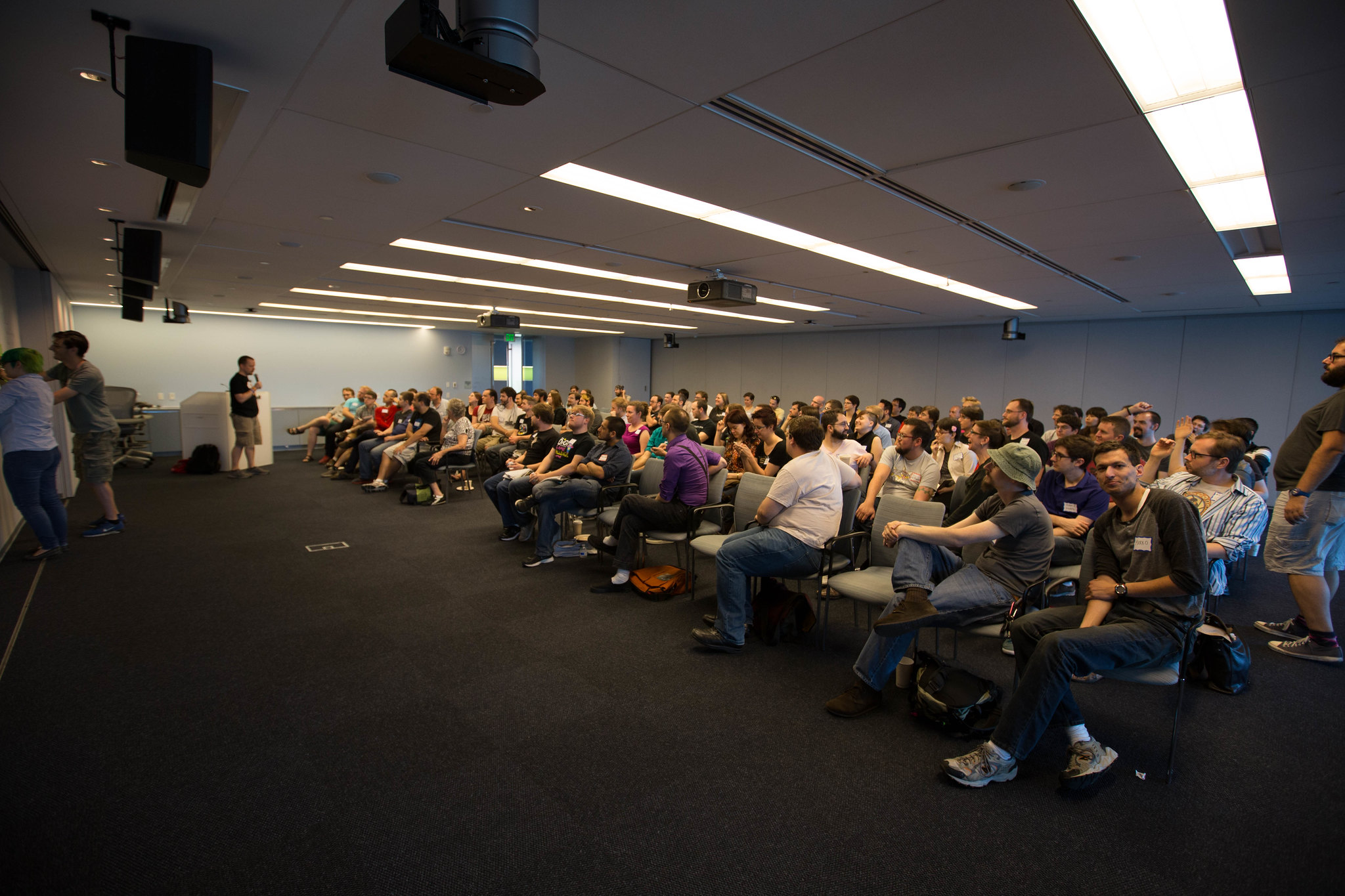 an image of attendees from a past gameloop conference